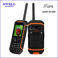 Factory Rugged Mobile sos phone X6 IP67 Waterproof gps walkie talkie anti-shock rough diamonds