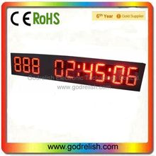 led plastic bar counter super bright outdoor led display screen axle counter