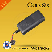 Concox Water Proof WeTrack2 GPS Car/Truck/Motor/Electric-bike Real-time Tracker Mini gps tracker locator