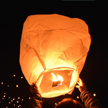 100% biodegradable wishing lights lucky sky lanterns