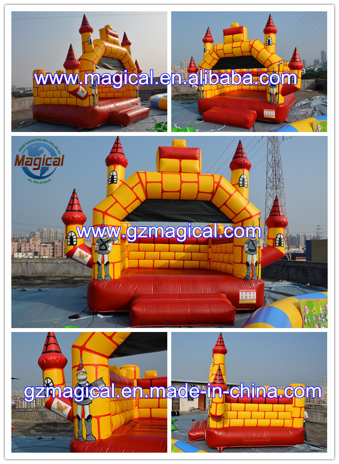 Colorful PVC tarpauline Used Commercial Inflatable Bouncers Wholesale