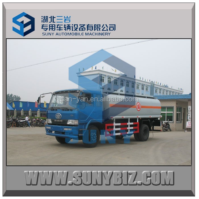 13000 liters 14000 liters oil tank truck 130 HP fuel tanker vehicle fuel tanks trucks for sale
