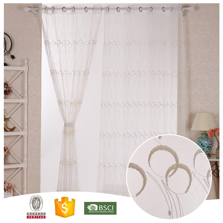 2016 Top Quality Famous Brand Beautiful shower curtain beaded