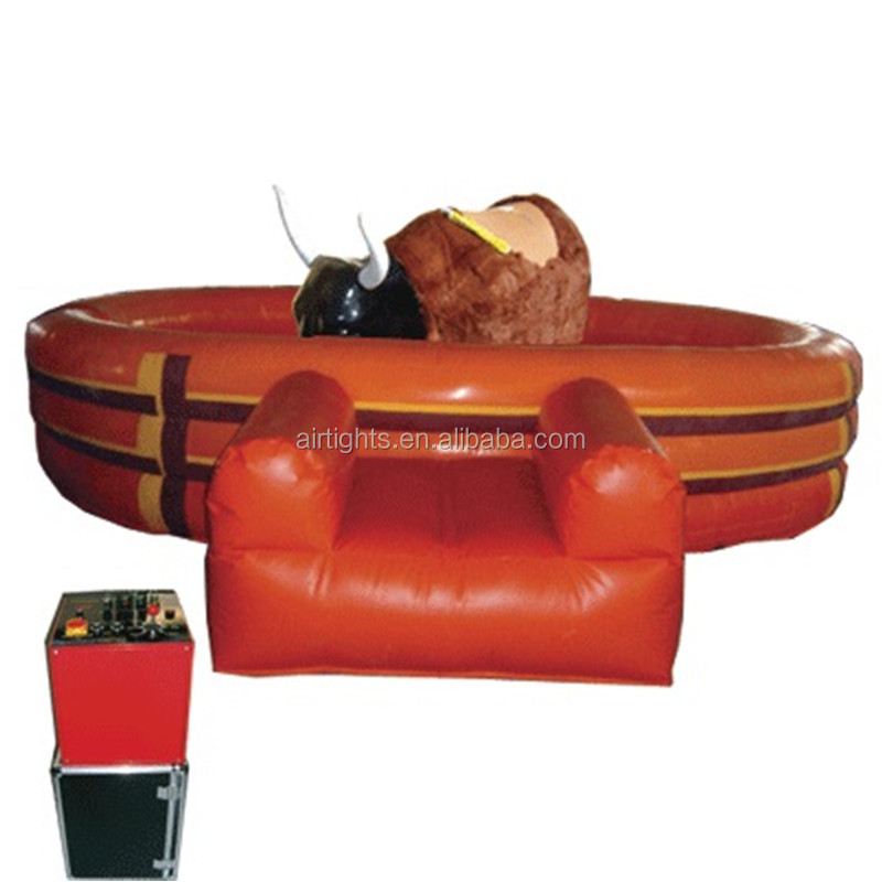 China factory Airtight mechanical bull machine/ <strong>inflatable</strong> rides/rodeo bull
