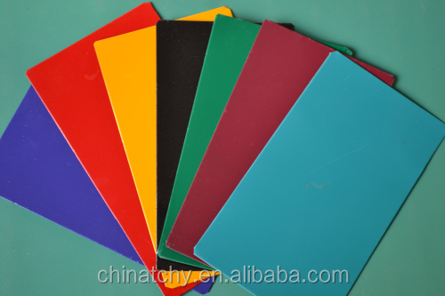 Maquinaria industrial materials aluminum sheet PE PVDF color coated for electric component rain gutter