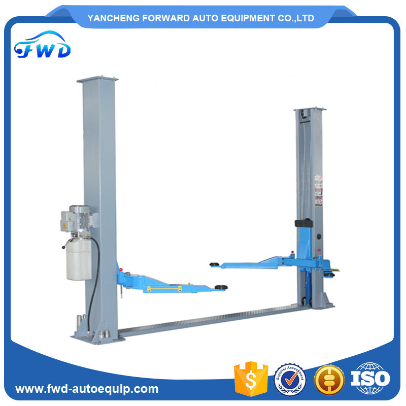 Low cost 4500kg used 2 post car lift for sale