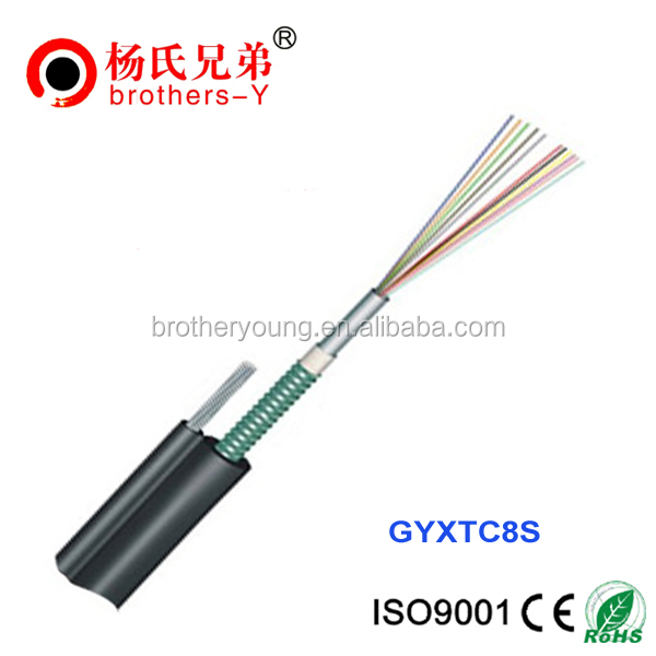 fibre optic cable 48 core indoor fiber optic adss cable