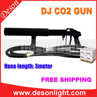 Handhold Co2 DJ Gun Lights 3Meter Hose CO2 Jet Machine DMX Stage Effect Machine Shoot F-211