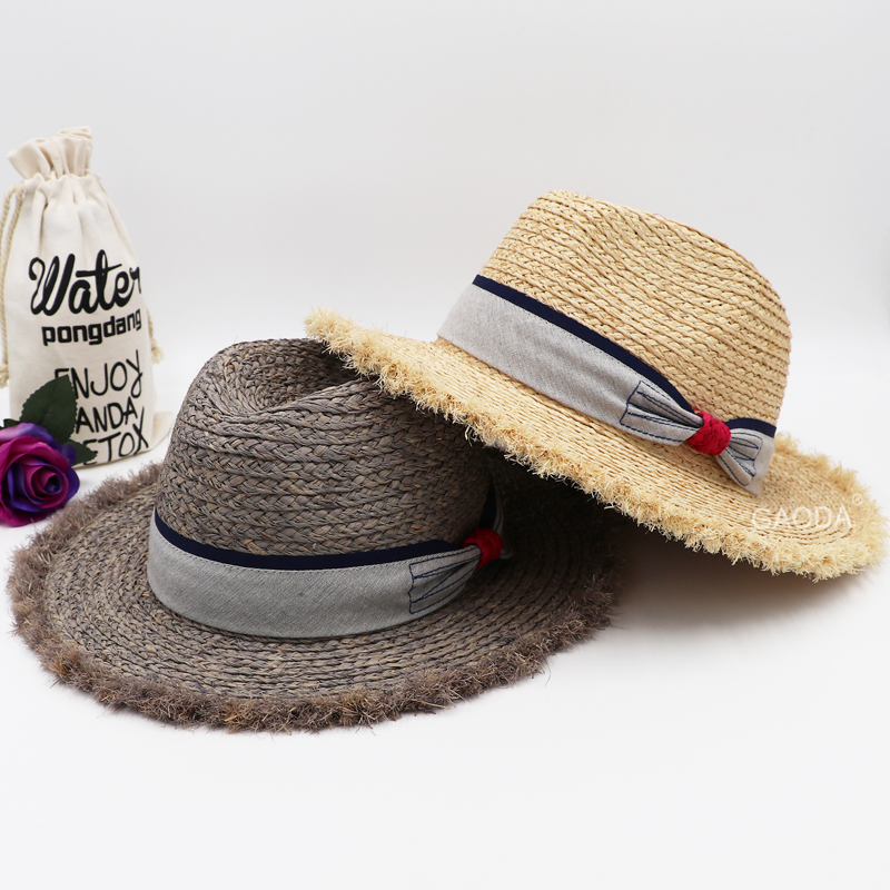Cheap price new design hot sale straw hats panama hats