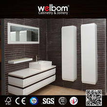 2015 simple design wall mouted modern bathroom vanity