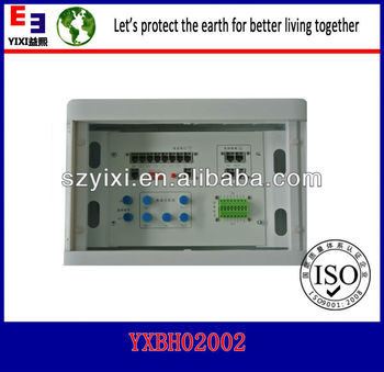 With 4 port network module information box