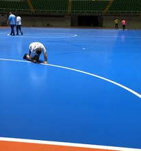 commercial pvc plastic flooring roll for sports