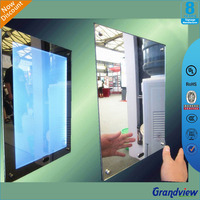 Outdoor advertising display led light box magic mirror photo frame