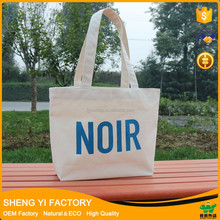 Wholesale Promotional organic cotton canvas tote bag