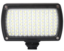 96 LED Photo Light on Camera Video Hotshoe LED Lamp Light 850Lux 9W 3300k/5600k with Bag for DSLR