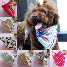 Dog Accessories Pet Products/ Dog Saliva Scarf/ Dog Triangular Bandage Collar