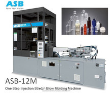 ASB - 12M Cosmetic Jar bottles injection stretch blow molding machine