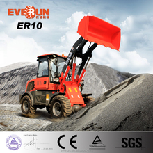 EVERUN brand ZL10F front end loader,wheel loader with CE issued by TUV