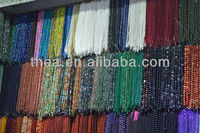 2013 Fashion multi colors natural loose beads various material for jewelry making wholesale alibaba