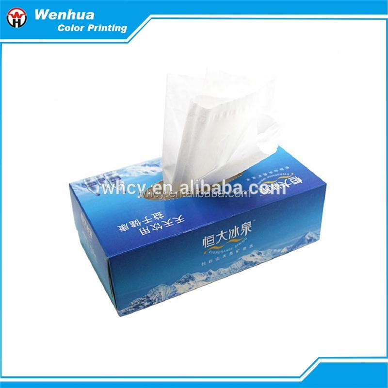 soft and freshing facial tissue paper box,add water as wet wipe