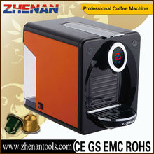 ABS Housing Material and Espresso Coffee Maker Type coffee machine ZNCM202A NESPRESSO or LAVAZZA POINT CAPSULE