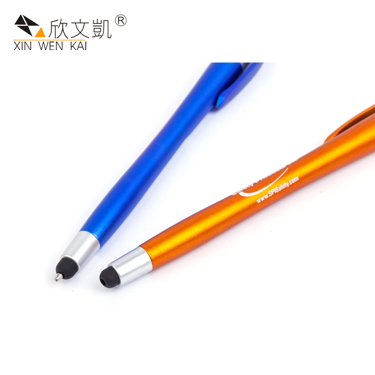 Hot Sale Stationery Supplier Custom Logo Promotional Short Design Small Plastic Ball Point Pen
