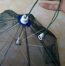 Hot sale foldable crayfish trap Zippered pocket for bait