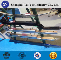 Hot sale popular Parabolic Light Trailer 76x20 Rear TRA2728 Leaf Spring
