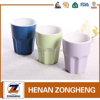 5oz / 150ml two tone cups ceramic coffee mug without handle