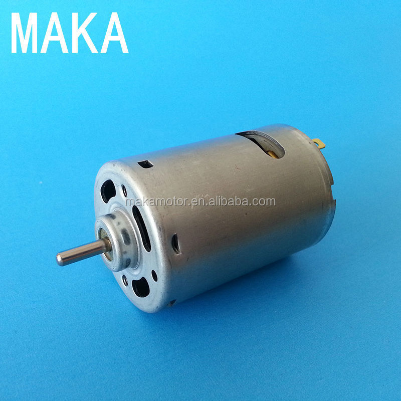 540SH01 brush magnet electric motor dc 12v 24v
