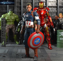 Gzltf Hot toy 23cm TheAvengers 2 Captain America Steven Movie PVC Action Figure