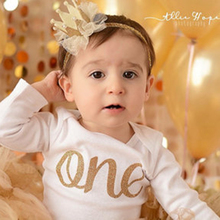 Non Slip Fashionable Lace Decoration Glitter Crown Headband For Baby