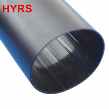 PE material black medium wall heat shrink tube with hot melting adhesive
