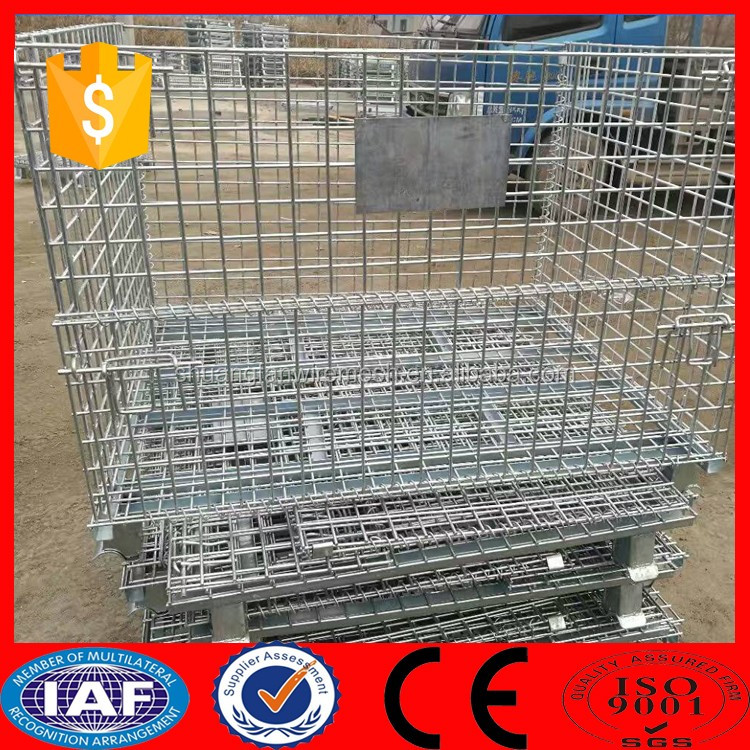Rock basket wire mesh / gabion stone cage for Bank of river ( manufacturer )