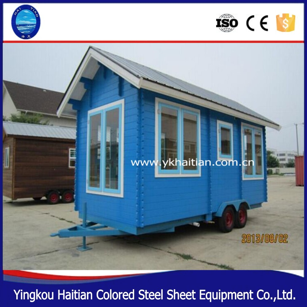 on wheels tree house movable tiny kit houses prefabricated green mobile workshop trailer mobile house for sale