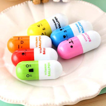 Amazing cheap fancy pens pill box shaped pen