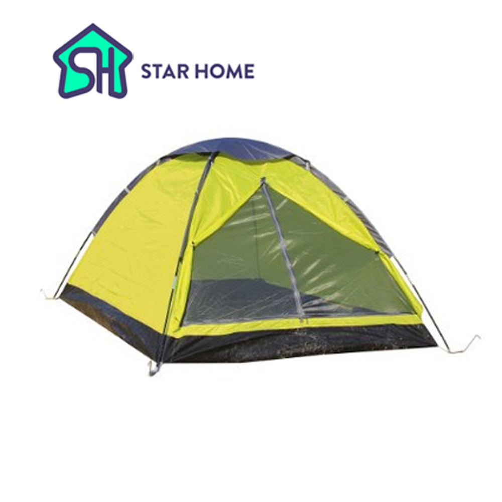 Single Layer 3 Person tent for sale uk