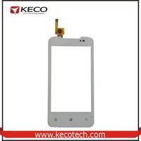 "4.0"" inch tft Capactive Touchscreen Digitizer Glass Panel Highscreen Replacement Parts For Lenovo A390 White"
