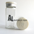 medicine bottle, logo in bottle, logo in flips cap
