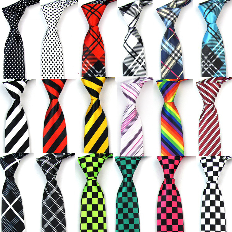 2017 New collection bow gift fabric polyester ties men silk Neckties