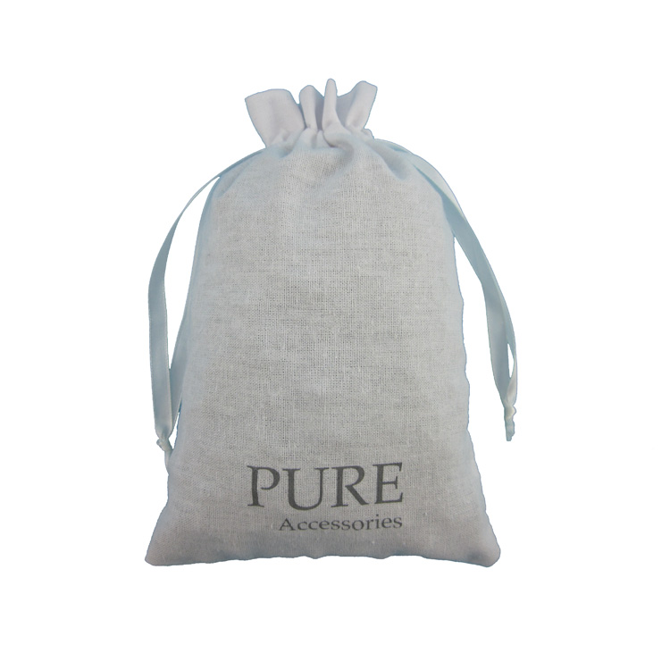 New Arrival Perfume Essential Oil Cotton Storage Dust Bag Jewelry Packing Bag Cotton Muslin Bag