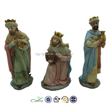 Three kings religious catholic figurines