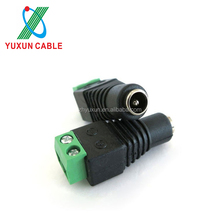 CCTV Accessories 12v DC Power Jack Male And Female DC Power Connector