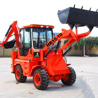 HR15-10 industrial cheap small backhoe front end loader for sale
