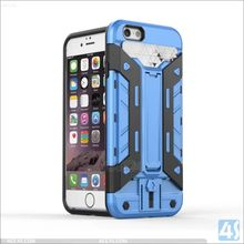Sinofly New Design Cool 3 in 1 Armor Hybrid Combo TPU PC hard Holder Case for New iPhone SE 5 5S phone case