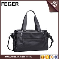 FEGER large volume travel duffel bag high quality pu cheap travel holdall bags