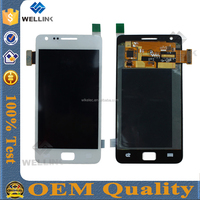 100% quality lcd for galaxy s2 display repair parts