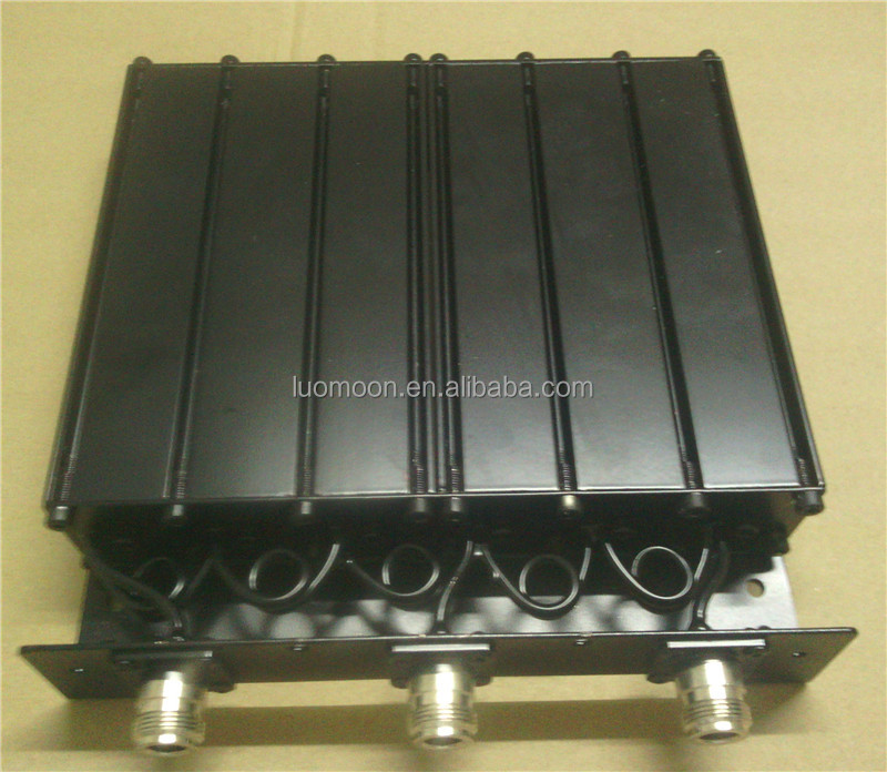 Digital trunk dedicated 6 Cavity UHF 50W Duplexer free turning