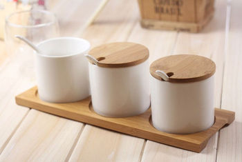 Eco-friendly bamboo kitchen cooking spice tools