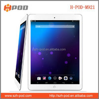 wholesage 9.7 inch tablet pc quad core allwinner a31s android 4.4.2 os 1g ddr 16gb memory bluetooth 8000mah battery rear 5.0mega